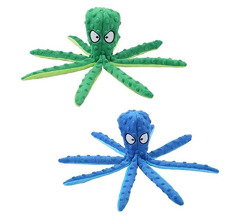 Octopus Dog Chew Toy