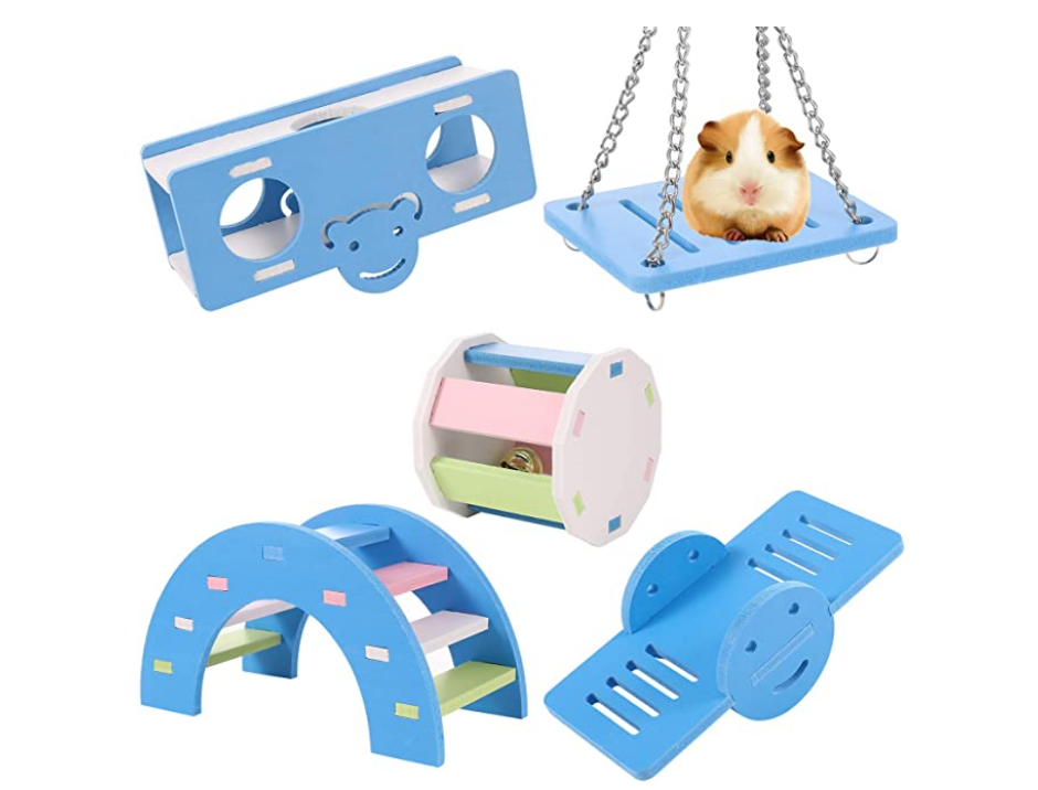 5 Pcs Hamster Play Toy