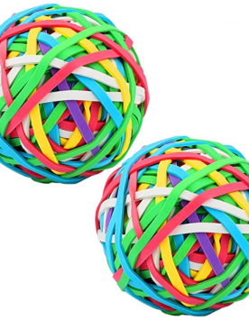 2 Pack Coloured Rubber Bands